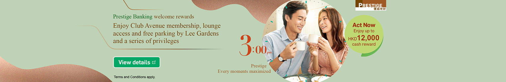Join Prestige Banking with relevant transactions to enjoy rewards up to $27,150