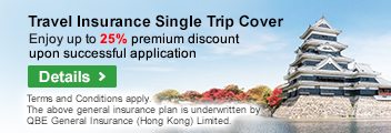 Travelsure Single Trip Travel Insurance