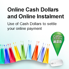 Online Cash Dollars and Online Instalment Use of Cash Dollars to settle you online payment