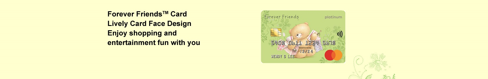 Hang Seng Card Products - Forever Friends Card