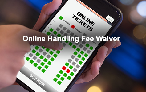 Online Handling Fee Waiver