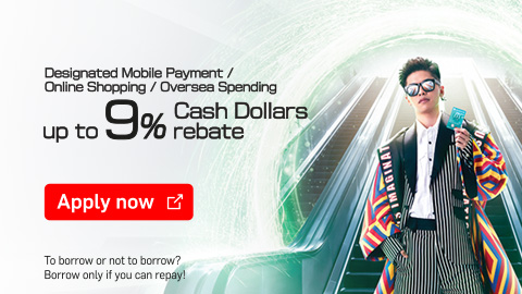 I am what I like  Mobile Payment / Online Shopping 5% Cash Dollars rebate  Apply Now