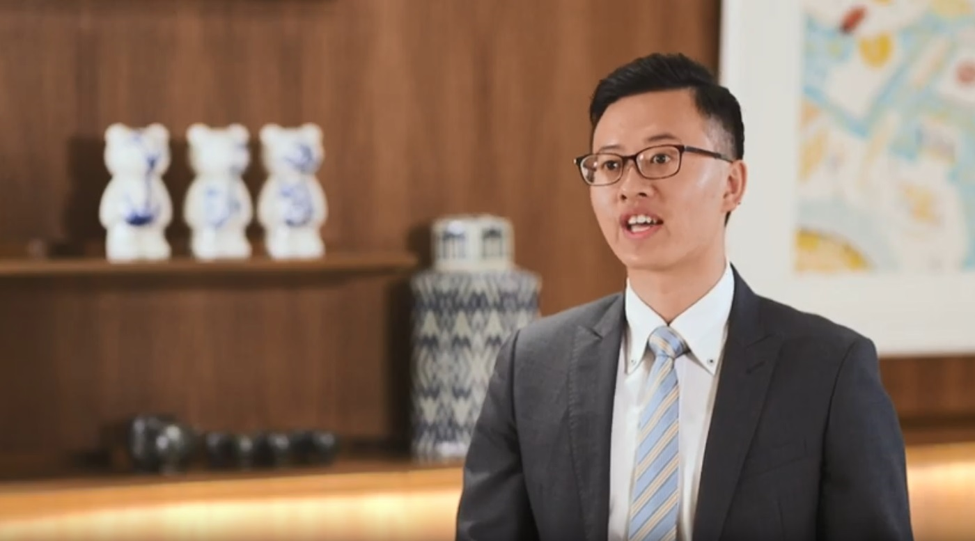 Kenson Chan - Management Trainee, 2016 Intake