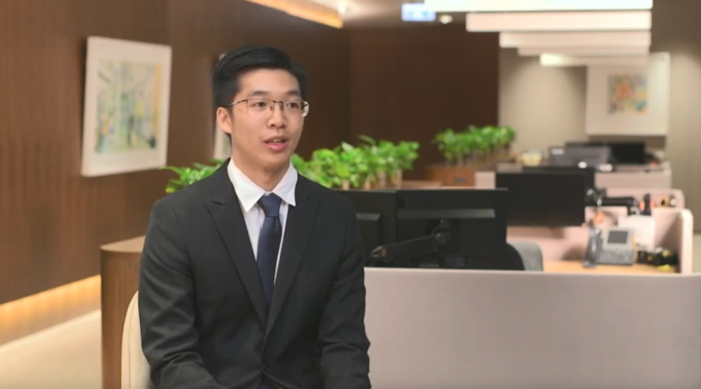 Tommy Cheung - Management Trainee, 2017 Intake