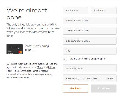 Masterpass™ by Mastercard® - Hang Seng Credit Card - Hang