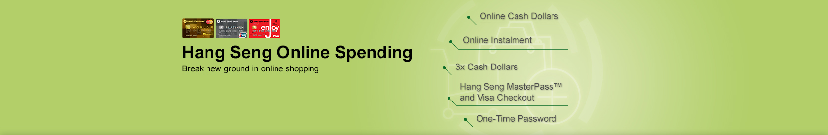 Hang Seng Online Spending Break new ground online shopping