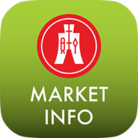 Market Info App for iOS and Android